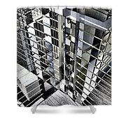 Urban Abstract 94 Shower Curtain