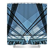 Urban Abstract Vi Shower Curtain