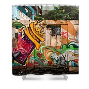 Urban Art 1 Shower Curtain
