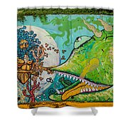 Urban Art 6 Shower Curtain