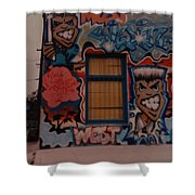 Urban Art Shower Curtain