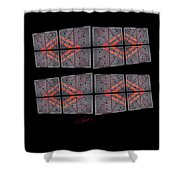 Urban Break-up Shower Curtain