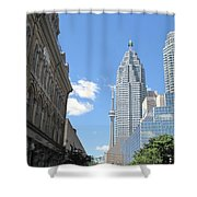 Urban Canyon Shower Curtain