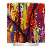 Urban Carnival Shower Curtain