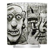 Urban Clown Shower Curtain