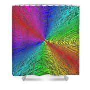 Urban Colorful Shower Curtain