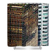 Urban Contrast Shower Curtain