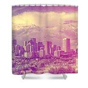 Urban Downtown Shower Curtain