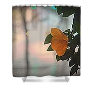 Urban Flora Shower Curtain
