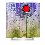 Urban Flower Shower Curtain
