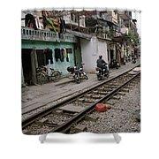 Urban Hanoi Shower Curtain