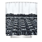 Urban Mountain Shower Curtain