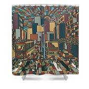 Urban Music Xll Shower Curtain