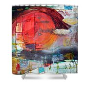 Urban Myth Shower Curtain