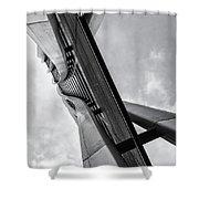 Urban Olympus Shower Curtain