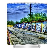 Urban Overpass Shower Curtain