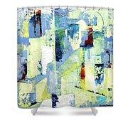 Urban Patterns 1 Shower Curtain