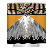 Urban Pyramid Shower Curtain