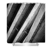 Urban Rib Cage - Number One Shower Curtain