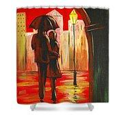 Urban Romance Shower Curtain