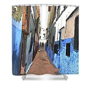 Urban Scene  Shower Curtain