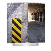Urban Signs 2 Shower Curtain
