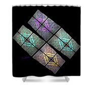Urban Space Station Shower Curtain