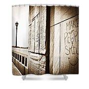 Urban Streets  Shower Curtain