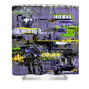 Urban Transport  Shower Curtain