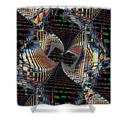 Urban Twist And Tango Shower Curtain