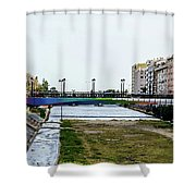 Urban Vividness Shower Curtain