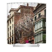 Urban Wiggle Shower Curtain