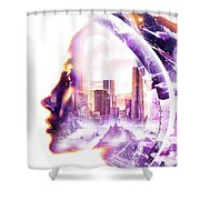 Urbanize Shower Curtain