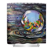 Urbe In Orbem Shower Curtain