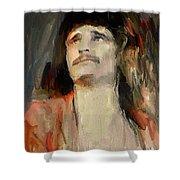 Uriah Heep Portrait Shower Curtain