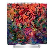 Urn Of The Fire Shower Curtain