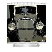 Uruguay Auto Shower Curtain