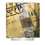 Us 100 Dollar Bill Security Features, 6 Shower Curtain