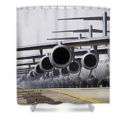 U.s. Air Force C-17 Globemaster IIis Shower Curtain