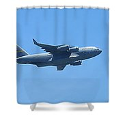 U.s. Air Force Cargo Plane Shower Curtain