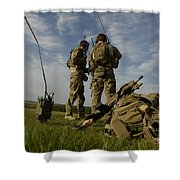 U.s. Air Force Combat Controllers Shower Curtain