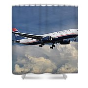 Us Airways A330-200 N280ay Shower Curtain