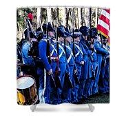 U.s. Army 1845 Shower Curtain