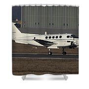 U.s. Army C-12 Huron Liaison Aircraft Shower Curtain