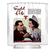 Us Army Nurse Corps Shower Curtain
