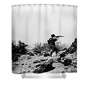 U.s. Army Soldier Shower Curtain