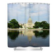 Us Capitol 1 Shower Curtain