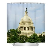 Us Capitol 2 Shower Curtain