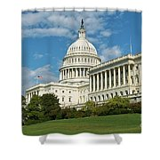Us Capitol Washington Dc Shower Curtain