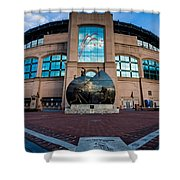 Us Cellular Field Shower Curtain